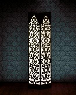 Lampa dekoracyjna - arabska