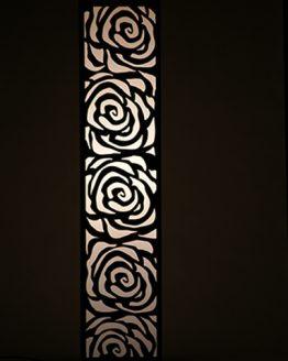 Lampa dekoracyjna - roze