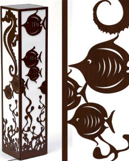 Dekoracyjna lampa - morska