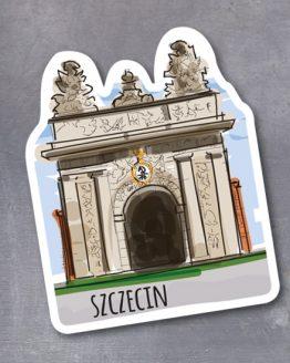 pamiątkowy magnes ze Szczecina