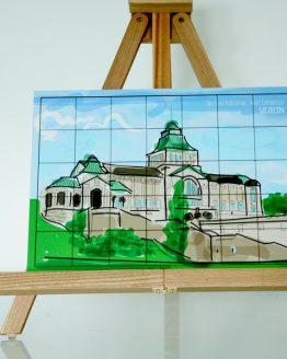 puzzle przedstawiające Muzeum na Wałach Chrobrego w Szczecinie