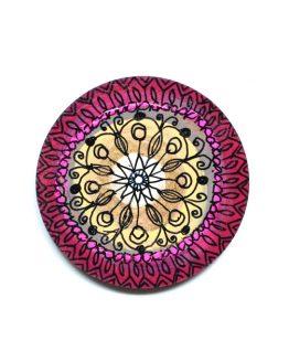 ręcznie malowany magnes na lodówkę albo tablicę