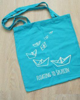torba na zakupy - floating to Szczecin