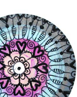 ręcznie malowany magnes