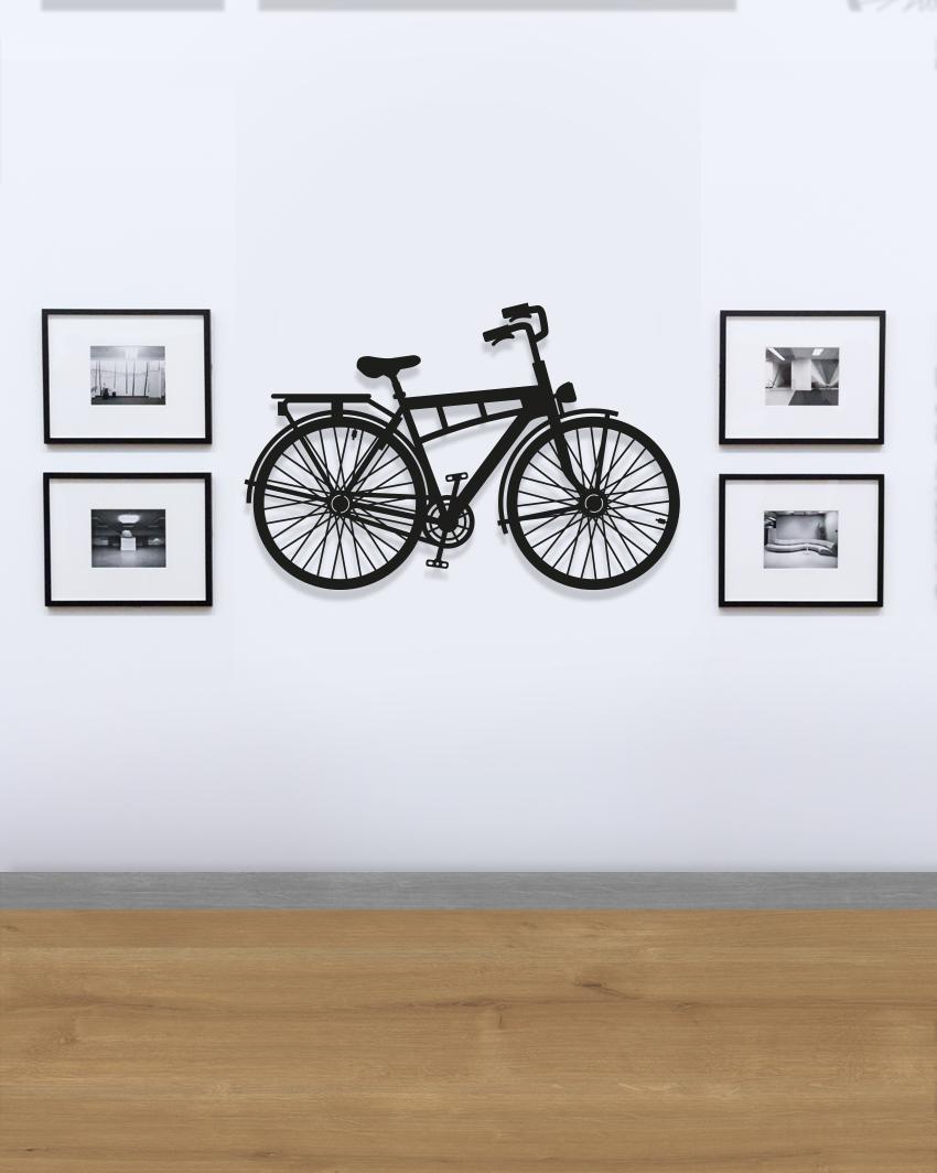 rower - geometryczna dekoracja na ścianę